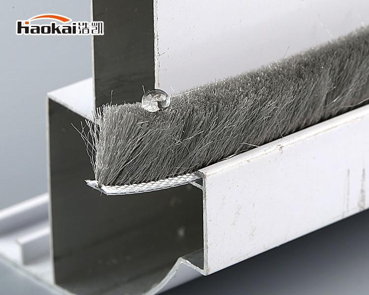 门窗密封硅化防水毛条